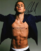 LIMITED EDITION CHARLIE HUNNAM SIGNED PHOTOGRAPH + CERT PRINTED AUTOGRAPH
