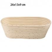 C188 Proving Basket Bread Dough Basket Bread Shape Wicker Oval 1.0 kg