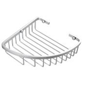 Space aluminium bathroom corner shelf/Bathroom Shelves/Single angle rack