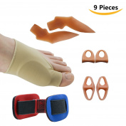 Sumifun Bunion Relief & Bunion Corrector Protector Sleeves Kit Treat Pain in Hallux