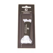 FootJoy Wax Golf Shoe Laces White