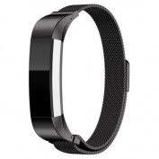 Fitbit Alta HR and Alta Wrist Strap Bracelet Stainless Steel Magnetic Closure Clasp Mesh Loop