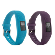 VAN-LUCKY Replacement Wrist Band With Metal Buckle For Garmin Vivofit 3 with Clasps Fitness Bands Suitable to All Sizes