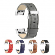 Fitbit Charge 2 band, BeneStellar Leather Replacement Wristband for Fitbit Charge 2