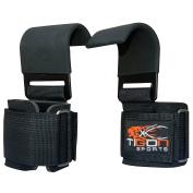 Power Weight Lifting Training Gym Straps Hook bar Wrist Support Lift Gloves Grip