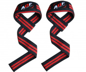 AQF Weight Lifting Gym Straps Padded Crossfit Wrist Support Wraps Hand Bar Bodybuilding Training Workout Multi Colour