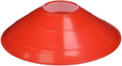 Goal Sporting Goods Field Marking Disc Cones, Red