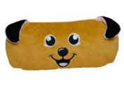 Cartoon Animal Dog Soft Plush Stationery Pen Case