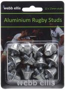 Webb Ellis Studs Blister Pack - Metallic, 15 mm