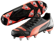 Puma EvoPower H8 Rugby Boots PU Sole Aluminium Cleats Sports Shoes Footwear
