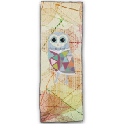 Cartoon Owl Cotton Yoga Mat