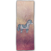 Cartoon Figure Horse Comfortable Yoga Mat