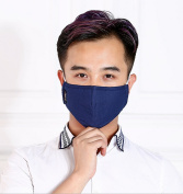 Stereo-protection solid-colour mask for winter protection against smog