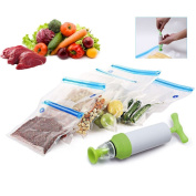 Bivan New Vacuum Sealer For Household Food Storage Bags With Pump Reusable Food Packages Kitchen Organiser