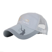 Stebcece Women Men Adjustable Snapback Hat Cap-Grey