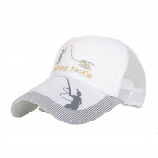 Stebcece Fashional Adjustable Fishing Baseball Golf Cap Hat for Men Women