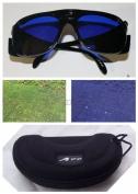E-1 A99 Golf Eagle Eye GOLF BALL FINDER GLASSES NEW with case Black Frame - .