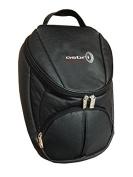 Asbri Golf Men's Leatherette Shoe Bag - Black