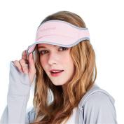 Kenmont Fashion Sports Sun Visor Hat Sandwish Peak Cap Running Golf Tennis Caps Hat