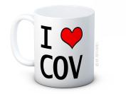 I LOVE COV - Coventry - High Quality Ceramic Coffee or Tea Mug