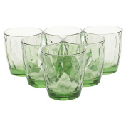 Bormioli Rocco Clear and Coloured Diamond Glass Tumblers/Whisky Drinking Cups