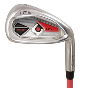 MKids 8 Right Iron Clubs - Red