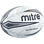 Mitre B4109 Outdoor Sports Training & Practise Maori Match Rugby Ball Size 5