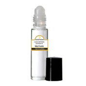 Grand Parfums Perfume Oil - Uncut Alcohol Free Body Oil Baby Powder Fragrance 30ml bottle with Roll on