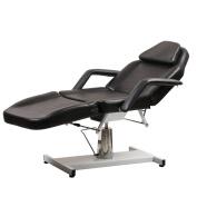 New ColdBeauty Black Facial Massage Table Bed Chair Beauty Salon Equipment