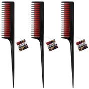 "3 x COTU (R) 8"" Deluxe Triple Teasing Comb"