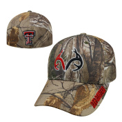 Texas Tech Red Raiders Official NCAA One Fit RTX Brand 1 Hat by Top of the World 465326