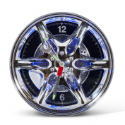 Led Wheel Rim Wall Clock [New Packaging]