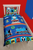 Thomas The Tank 'Team' Single Duvet Set - Repeat Print Design