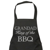 Grandad King of the BBQ Apron Gift Present Fathers Day Birthday Christmas