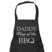 Daddy King of the BBQ Apron Gift Present Fathers Day Birthday Christmas
