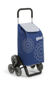 Gimi Tris Floral Blue Shopping trolley