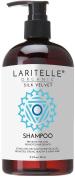 Laritelle Organic Shampoo 520ml | Chamomile, Geranium + Biotin+Keratin + Follicle Stimulating Rosemary, Ravintsara & Myrtle | Hair Loss Prevention, Clarifying, Softening, Strengthening | GF