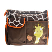Yeahibaby Tote Handbag Nappy Changing Pad Travel Mummy Bag Giraffe Pattern Bag