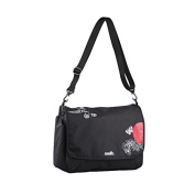 Okiedog, Messenger with Backpack Function - Baby Bag - Black [Special Edition]