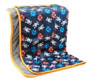 Coolababy Baby Changing Matress for Home and Travel Reusable Portable Nappy Pad Waterproof Sheet for Bed Play Stroller Crib Car-Safe Mat Pad Cover