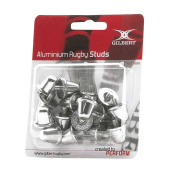 GILBERT aluminium rugby studs [18+21mm mix]