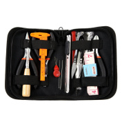 Luxxio Jewellery Beading Making Tools Kit - Jewellery Crafting and Repair with Zipper Storage Case