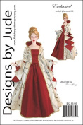 Enchanted Court Doll Clothes Sewing Pattern for 1/3 Iplehouse EID BJD Dolls