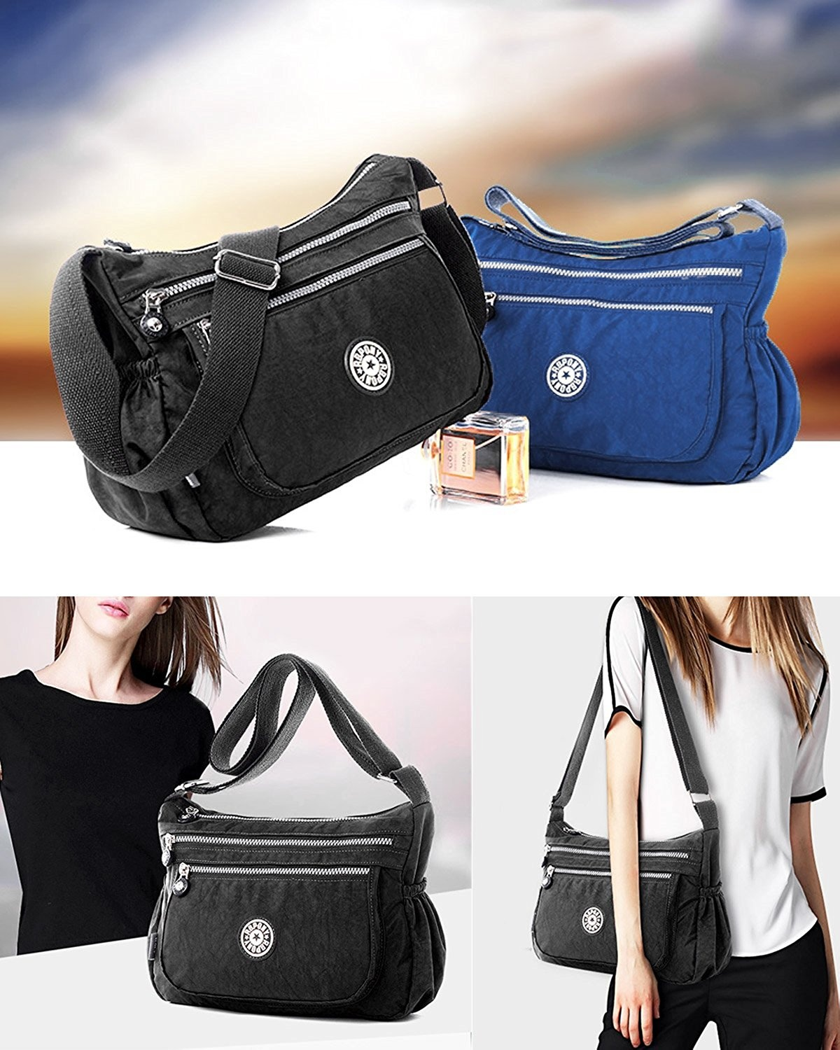 8152adb886cc ABLE Women Anti Splash Water Shoulder Messenger Crossbody Bags by Unbranded  - Shop Online for Bags in Australia