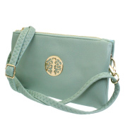 Small Clutch Bags with Wristlet and Long Adjustable Strap - Packaged With FREE Elegant Tiana Marie Dust bag