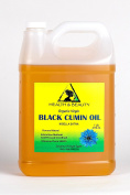 Black Seed Oil / Cumin Oil Unrefined Organic Virgin Raw Cold Pressed Premium Fresh Pure 3790ml, 3.2kg, 1 gal