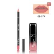 Tenworld Long Lasting Matte Liquid Lipstick Waterproof Lip Gloss Lip Liner Pen Set