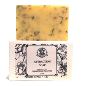 Attraction Shea Herbal Soap Bar Handmade Love, Money, Manifestation & Prosperity Wiccan Pagan Hoodoo