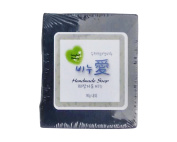 Gangwon, Natural Handmade LOVE SOAP, 100% Natural ingredients, Clear Cosmetic Soap, Remove cosmetic