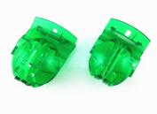 Honbay 2pcs Translucent Green Golf Ball Liner Marker Template Drawing Mark Alignment Putting Tool